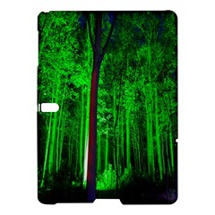 Spooky Forest With Illuminated Trees Samsung Galaxy Tab S (10.5 ) Hardshell Case