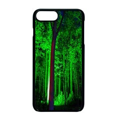 Spooky Forest With Illuminated Trees Apple iPhone 7 Plus Seamless Case (Black)