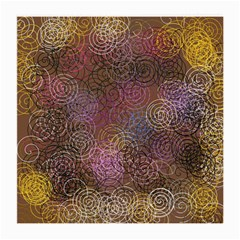 2000 Spirals Many Colorful Spirals Medium Glasses Cloth