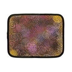 2000 Spirals Many Colorful Spirals Netbook Case (Small)