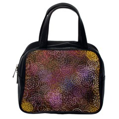 2000 Spirals Many Colorful Spirals Classic Handbags (One Side)