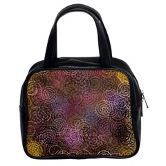 2000 Spirals Many Colorful Spirals Classic Handbags (2 Sides)