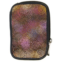 2000 Spirals Many Colorful Spirals Compact Camera Cases