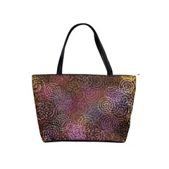 2000 Spirals Many Colorful Spirals Shoulder Handbags