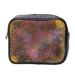 2000 Spirals Many Colorful Spirals Mini Toiletries Bag 2-Side