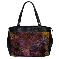 2000 Spirals Many Colorful Spirals Office Handbags
