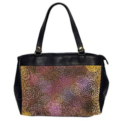 2000 Spirals Many Colorful Spirals Office Handbags (2 Sides)
