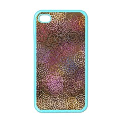 2000 Spirals Many Colorful Spirals Apple iPhone 4 Case (Color)