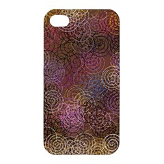 2000 Spirals Many Colorful Spirals Apple iPhone 4/4S Hardshell Case