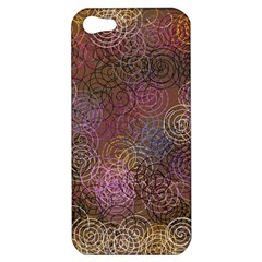 2000 Spirals Many Colorful Spirals Apple iPhone 5 Hardshell Case