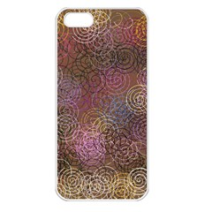 2000 Spirals Many Colorful Spirals Apple Iphone 5 Seamless Case (white)