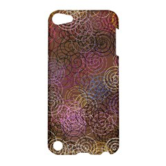 2000 Spirals Many Colorful Spirals Apple iPod Touch 5 Hardshell Case