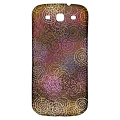 2000 Spirals Many Colorful Spirals Samsung Galaxy S3 S Iii Classic Hardshell Back Case