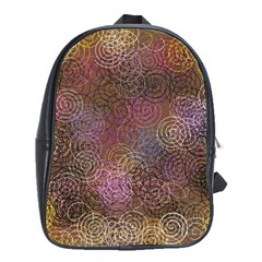 2000 Spirals Many Colorful Spirals School Bags (xl)