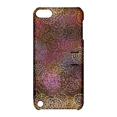 2000 Spirals Many Colorful Spirals Apple Ipod Touch 5 Hardshell Case With Stand