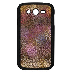 2000 Spirals Many Colorful Spirals Samsung Galaxy Grand Duos I9082 Case (black)