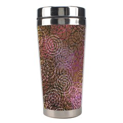 2000 Spirals Many Colorful Spirals Stainless Steel Travel Tumblers