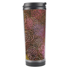 2000 Spirals Many Colorful Spirals Travel Tumbler