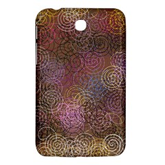 2000 Spirals Many Colorful Spirals Samsung Galaxy Tab 3 (7 ) P3200 Hardshell Case