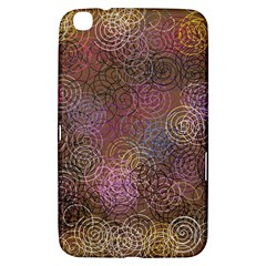 2000 Spirals Many Colorful Spirals Samsung Galaxy Tab 3 (8 ) T3100 Hardshell Case