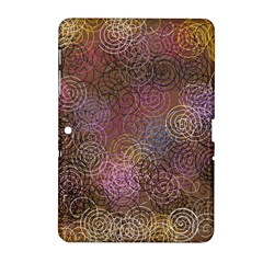 2000 Spirals Many Colorful Spirals Samsung Galaxy Tab 2 (10 1 ) P5100 Hardshell Case