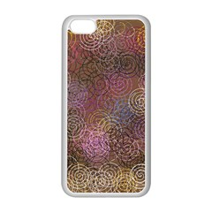 2000 Spirals Many Colorful Spirals Apple Iphone 5c Seamless Case (white)