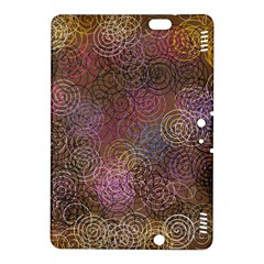 2000 Spirals Many Colorful Spirals Kindle Fire Hdx 8 9  Hardshell Case