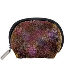 2000 Spirals Many Colorful Spirals Accessory Pouches (Small)