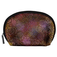 2000 Spirals Many Colorful Spirals Accessory Pouches (large)