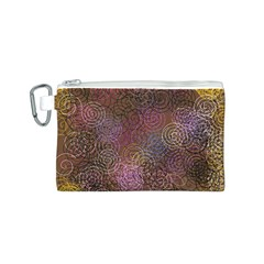 2000 Spirals Many Colorful Spirals Canvas Cosmetic Bag (s)