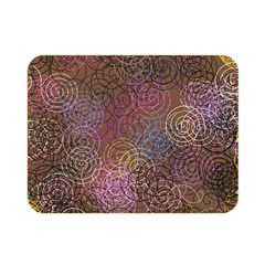 2000 Spirals Many Colorful Spirals Double Sided Flano Blanket (Mini)