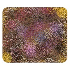 2000 Spirals Many Colorful Spirals Double Sided Flano Blanket (Small)