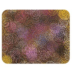 2000 Spirals Many Colorful Spirals Double Sided Flano Blanket (Medium)