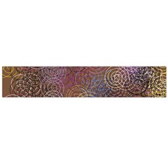 2000 Spirals Many Colorful Spirals Flano Scarf (Large)