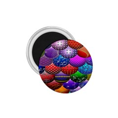 Fun Balls Pattern Colorful And Ornamental Balls Pattern Background 1.75  Magnets