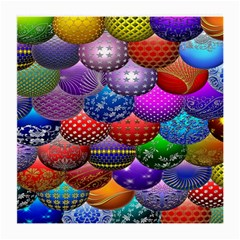 Fun Balls Pattern Colorful And Ornamental Balls Pattern Background Medium Glasses Cloth