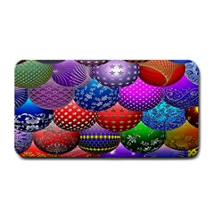 Fun Balls Pattern Colorful And Ornamental Balls Pattern Background Medium Bar Mats