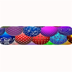 Fun Balls Pattern Colorful And Ornamental Balls Pattern Background Large Bar Mats