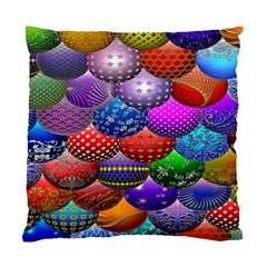 Fun Balls Pattern Colorful And Ornamental Balls Pattern Background Standard Cushion Case (one Side)