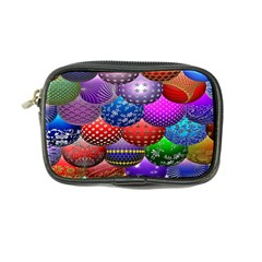 Fun Balls Pattern Colorful And Ornamental Balls Pattern Background Coin Purse
