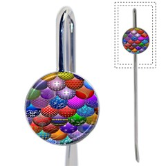 Fun Balls Pattern Colorful And Ornamental Balls Pattern Background Book Mark