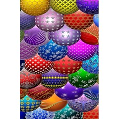Fun Balls Pattern Colorful And Ornamental Balls Pattern Background 5.5  x 8.5  Notebooks