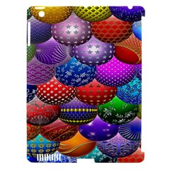 Fun Balls Pattern Colorful And Ornamental Balls Pattern Background Apple Ipad 3/4 Hardshell Case (compatible With Smart Cover)