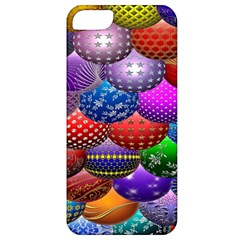 Fun Balls Pattern Colorful And Ornamental Balls Pattern Background Apple Iphone 5 Classic Hardshell Case