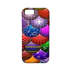 Fun Balls Pattern Colorful And Ornamental Balls Pattern Background Apple iPhone 5 Classic Hardshell Case (PC+Silicone)