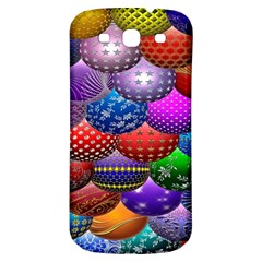 Fun Balls Pattern Colorful And Ornamental Balls Pattern Background Samsung Galaxy S3 S III Classic Hardshell Back Case