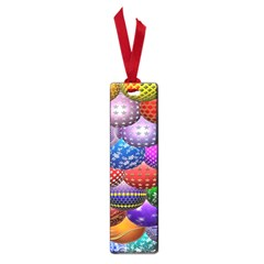 Fun Balls Pattern Colorful And Ornamental Balls Pattern Background Small Book Marks