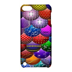 Fun Balls Pattern Colorful And Ornamental Balls Pattern Background Apple iPod Touch 5 Hardshell Case with Stand
