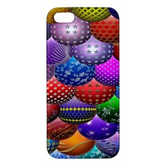 Fun Balls Pattern Colorful And Ornamental Balls Pattern Background Apple iPhone 5 Premium Hardshell Case