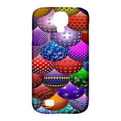 Fun Balls Pattern Colorful And Ornamental Balls Pattern Background Samsung Galaxy S4 Classic Hardshell Case (pc+silicone)